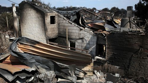 A total of 93 people have now died in the wildfires which tore through Greece last month.