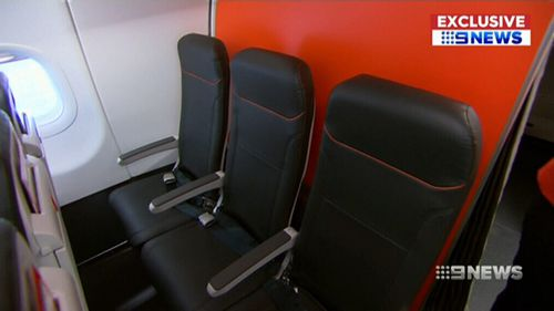 The airline says the extra row won't change legroom. (9NEWS)