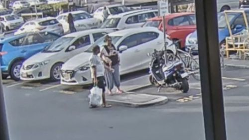 Police have released CCTV of the child believed to be hours before her death.