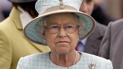 queen elizabeth frown