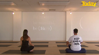 The devices can be used from the comfort or home, or in a yoga studio.