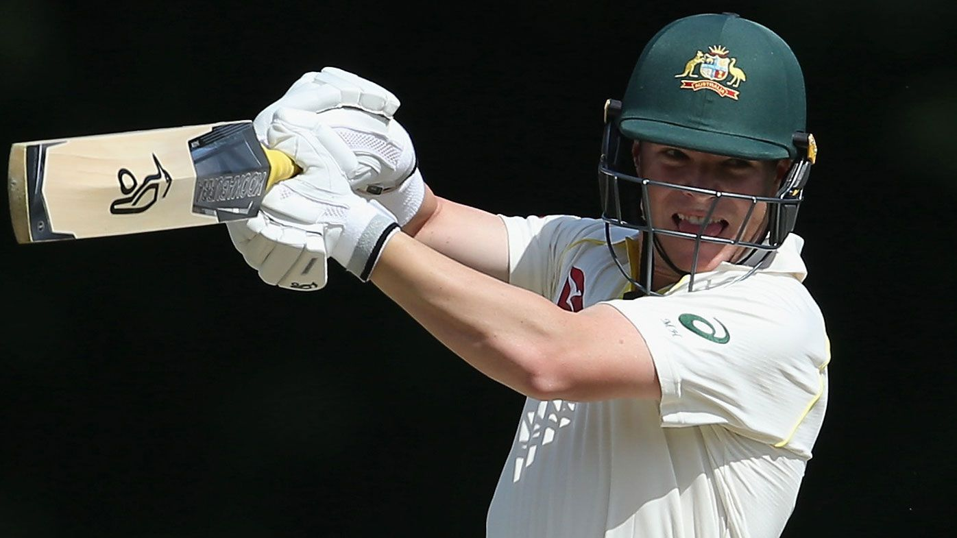 Hundred for Marcus Harris as Joe Burns stands tall in escalating Ashes battle