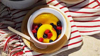 "Recipe: <a href=""http://kitchen.nine.com.au/2016/05/16/19/01/orange-blossom-poached-fruits"" target=""_top"">Orange blossom poached fruits</a>"