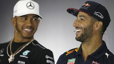 F1: Daniel Ricciardo would 'love' to team with Lewis Hamilton at Mercedes