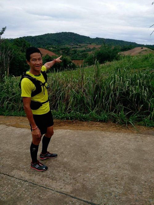 Former Sergeant. Saman Kunan, a Thai ex-SEAL, died in the early hours of Friday morning as he returned from an operation to deliver oxygen tanks to the cave where the boys are located. Picture: CNN