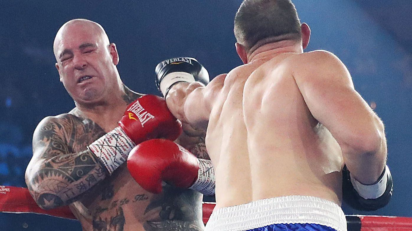 Lucas Browne alleges 'illegal punches' from Paul Gallen