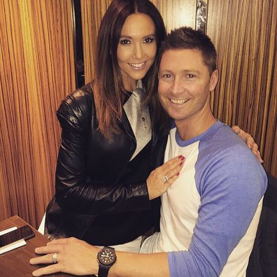Michael Clarke and Kyly Clarke announce they're expecting their first baby.