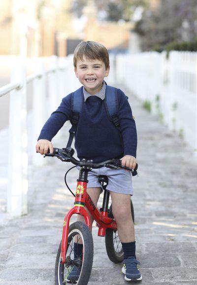 Prince Louis turns 3, starts nursery school
