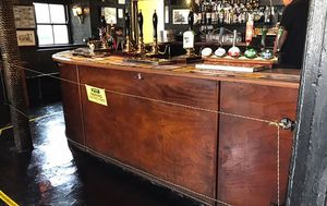 UK pub installs electric fence to enforce social distancing