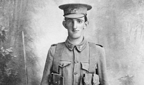 Albert John Handcock died at Gallipoli.  (Australian War Memorial)