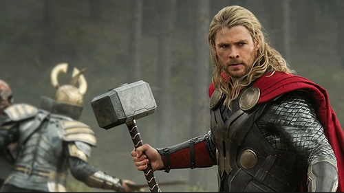 Mjolner is best known as Thor's hammer. Picture: Marvel