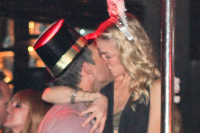 LeAnn Rimes and Eddie Cibrian rand in the New Year with a pash at a nightclub in Los Cabos, Mexico.