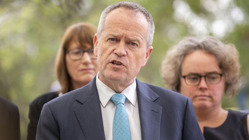 Labor leader Bill Shorten said moving the Israel embassy wasn't a good idea.