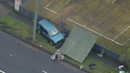 Pedestrian killed by out-of-control car in Sydney's north