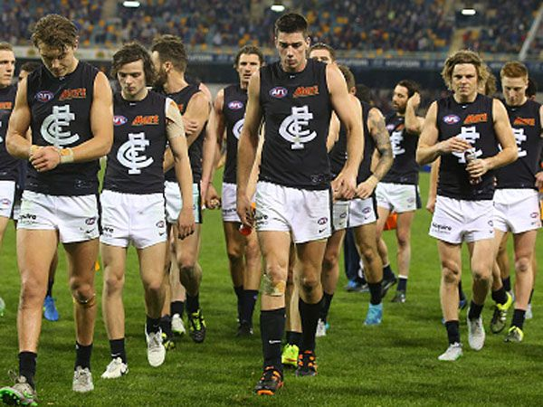 Carlton are struggling on and off the field. (Getty)