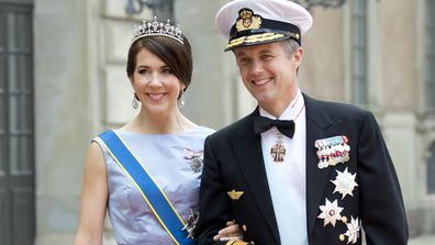 Crown Princess Mary and Prince Frederick