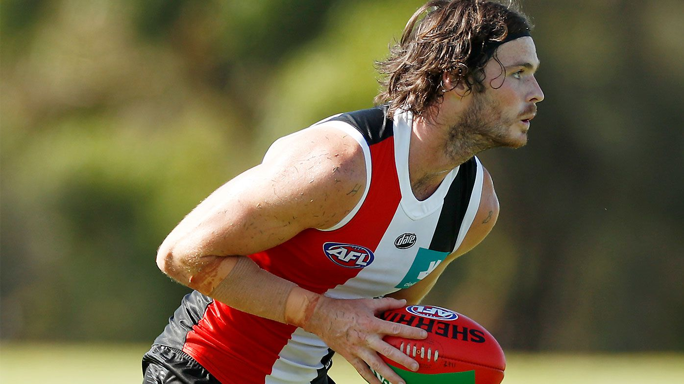 Returning star Dylan Roberton named to St Kilda leadership group two years after on-field collapse