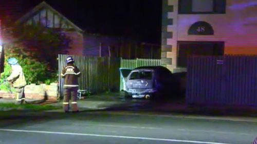 A neighbouring block of units was evacuated. (9NEWS)