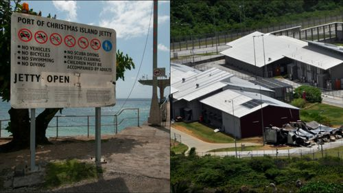 A guard at the Christmas Island detention centre has been sacked after being exposed as part of a syndicate supplying drugs, alcohol and phones to deportees.