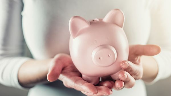 Miss Piggy Bank: it's never to late to start shifting your money mindset and teaching your children about all things financial. Image: Getty