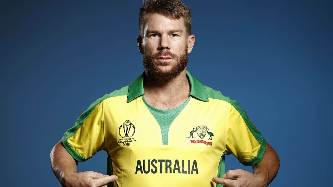 David Warner sledged by Barmy Army in 'cheats' photoshop of World Cup portrait