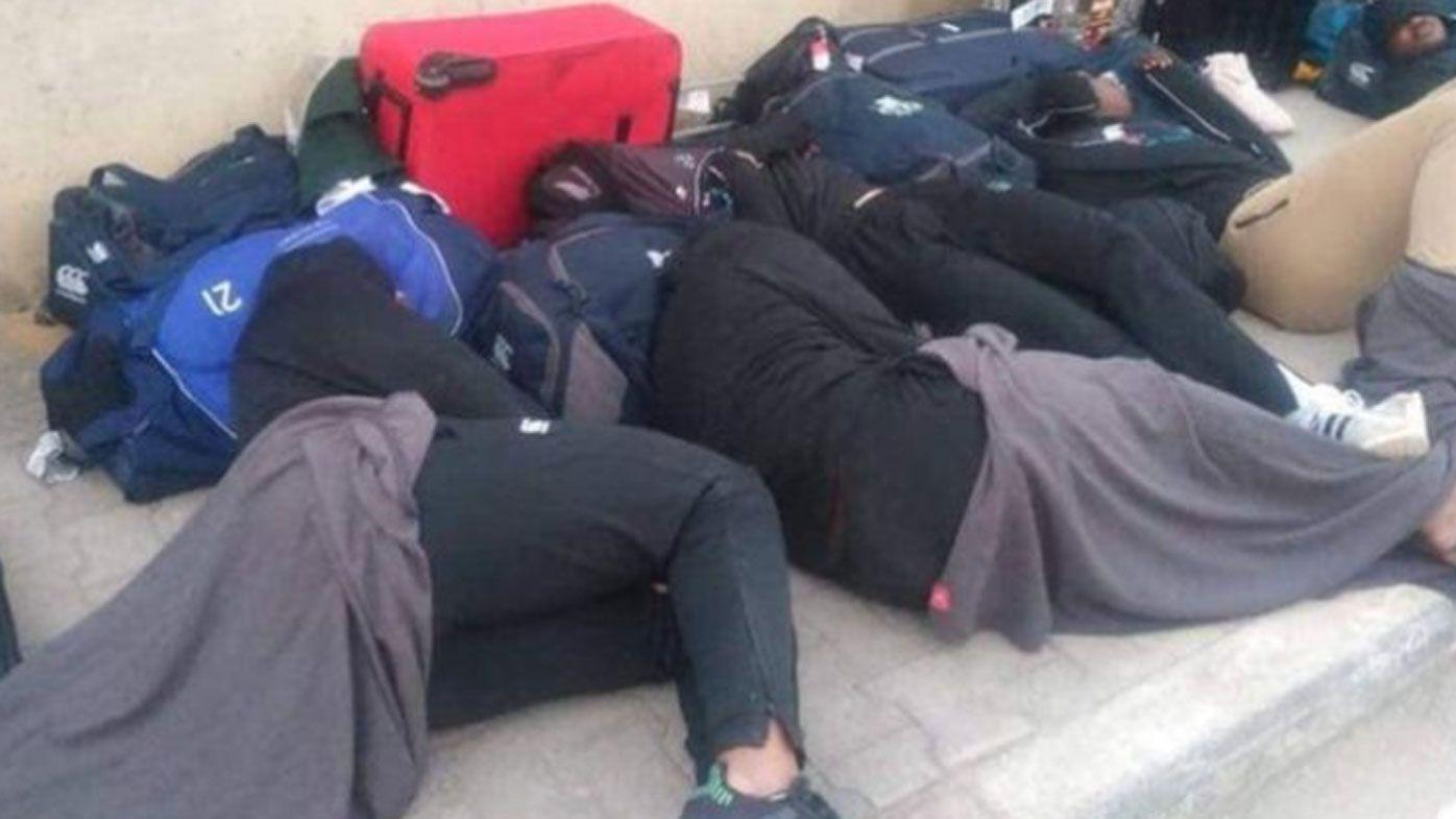 Tunisia apologises for Zimbabwe rugby players' street sleep