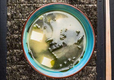"Recipe: <a href=""https://kitchen.nine.com.au/2017/05/13/20/45/susie-burrell-gut-boosting-miso-soup"" target=""_top"">Susie Burrell's gut-boosting miso soup</a>"
