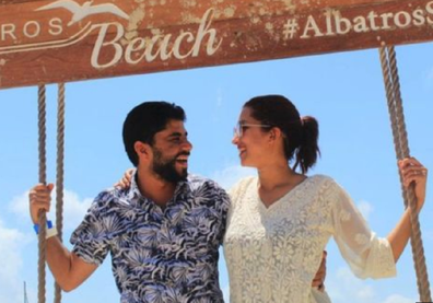 Khaled Mokhatar and Peri Abouzeid  honeymoon