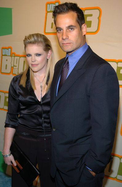 Natalie Maines of The Dixie Chicks and actor Adrian Pasdar