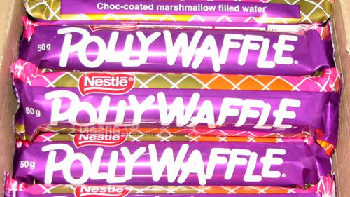 Expired Polly Waffles are still appearing on eBay for hundreds of dollars despite being inedible. (Supplied)