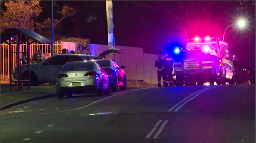 Police and paramedics were called to a street in Cranebrook last night after a man was shot in the neck (Supplied).