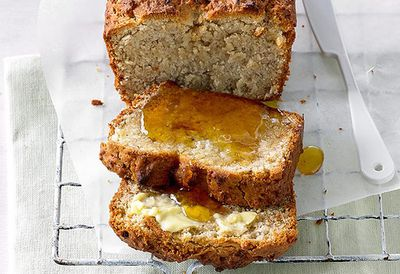 "Recipe:&nbsp;<a href=""http://kitchen.nine.com.au/2016/05/05/13/13/banana-bread-with-psyllium-husks"" target=""_top"" draggable=""false"">Banana bread with psyllium husks</a>"