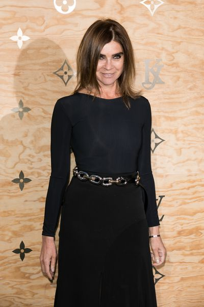 <p>The former editor of French <em>Vogue </em>Carine Roitfeld, 62,<em>&nbsp;</em>has held onto her gritty rock chic as she transitions from cool mother to even cooler grandmother.</p>