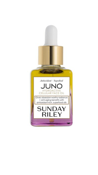 "<p><a href=""http://mecca.com.au/sunday-riley/juno-hydroactive-cellular-face-oil/I-015825.html#start=1"" target=""_blank"">Juno Hydroactive Cellular Face Oil, $150, Sunday Riley</a></p>"