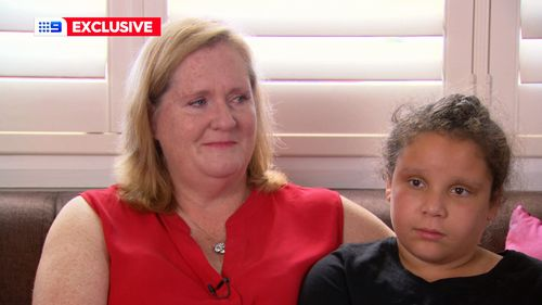 Mum Megan and her daughter Makayla spoke to Georgie Gardner.