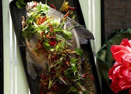 Teochew steamed fish