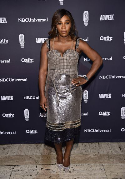 0a7584781cae Serena Williams rocks fishnet tights at Australian Open