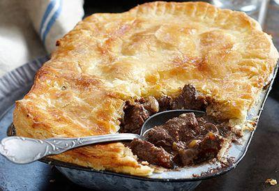 Irish steak and kidney pie