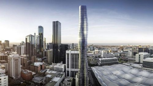 The building will be 68 storeys high.