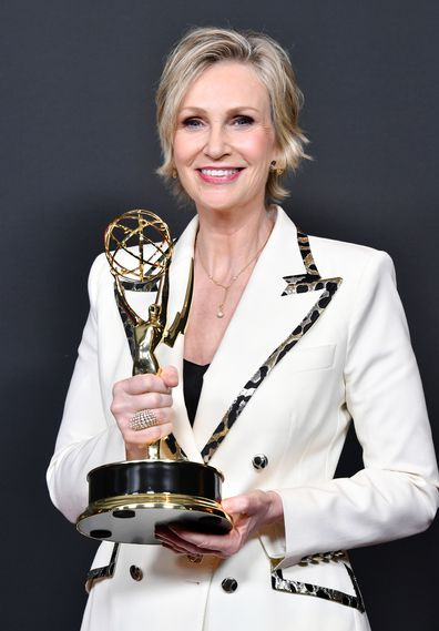 Jane Lynch wins Outstanding Guest Actress In A Comedy Series for The Marvelous Mrs. Maisel