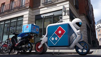 Domino's Pizza revealed they now have driverless delivery vehicles which Domino's said will carry 400 per cent more pizza thanks to 100 per cent less driver.