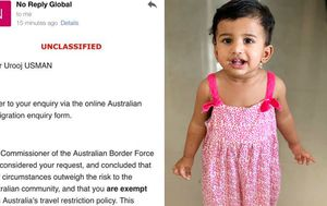 Family separated by border closures left devastated by government email bungle
