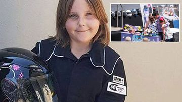 Eight-year-old drag racer 'was going too fast'
