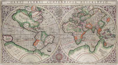 Rumold Mercator map, 1587