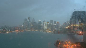 Sydney woke to rain on Saturday, with warnings it'll get worse.