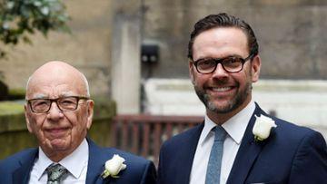 James Murdoch slams News Corp over 'climate change denial'