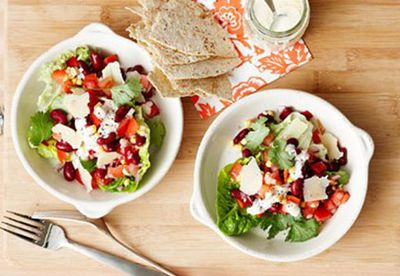 Mexican salad bowl
