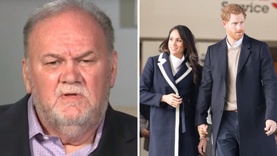 Thomas Markle Sr. found out about the birth at the same time as the rest of the world.