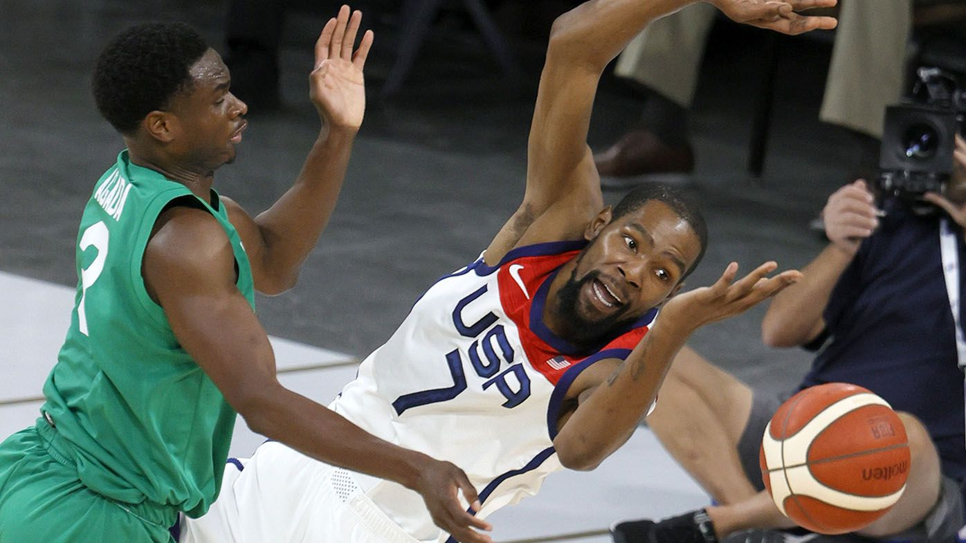 USA's NBA superstars stunned by loss to Nigeria in Tokyo Olympics warm-up game