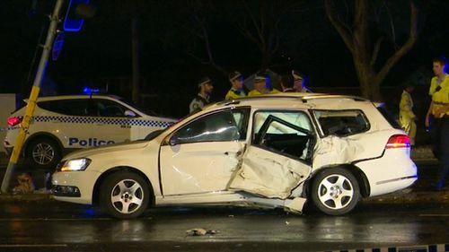 The white Volkswagen Passat had been reported stolen on Tuesday November 27.